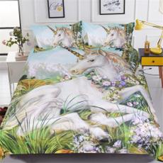 Flowers, duvet, 3dbedclothe, Bedding
