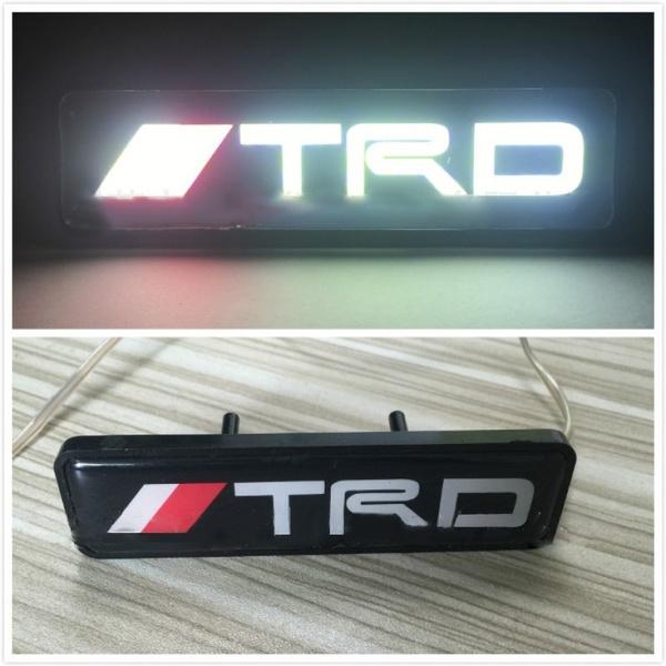 car led lights, Emblem, lights, Toyota