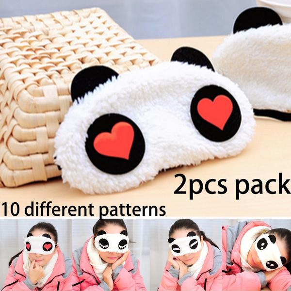 cute, sleepmask, pandaeyemask, Masks
