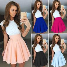 Mini, womens dresses, Lace, Cocktail