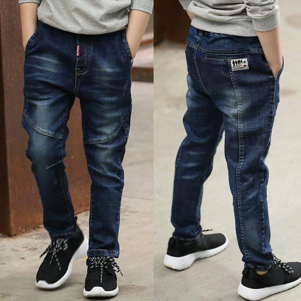 elastic waist, Spring/Autumn, kidstrouser, pants