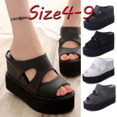 casual shoes, wedge, Sandals, Wedge Shoes
