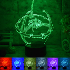 Night Light, Home Decor, battleship, Lighting