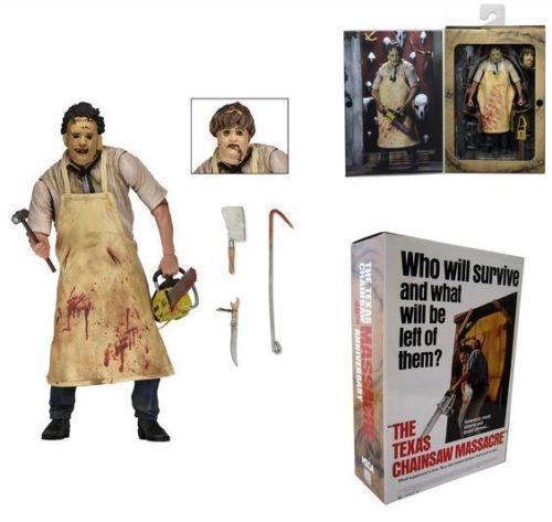 "NECA Texas Chainsaw Massacre Hewitt 7/"" Action Figure 40th ANNIVERSARIO doll"