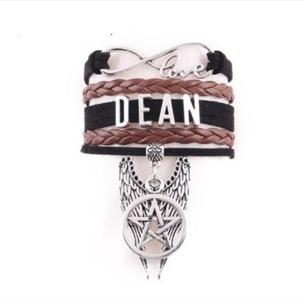 Charm Bracelet, wristbandbracelet, cuff bracelet, dean