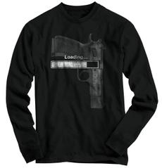 mensummertshirt, loading2ndamendment, Funny T Shirt, Long T-Shirt