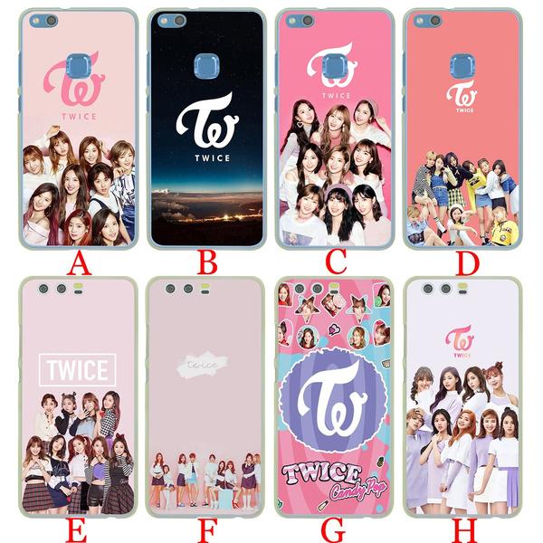 100a Twice Mina Momo Kpop Hard Fashion Phone Shell Case for Huawei P20 Pro P10 Lite P9 Plus P8 Lite Mini ( 2015 2016 2017 ) P Smart for Huawei Mate 10 ...