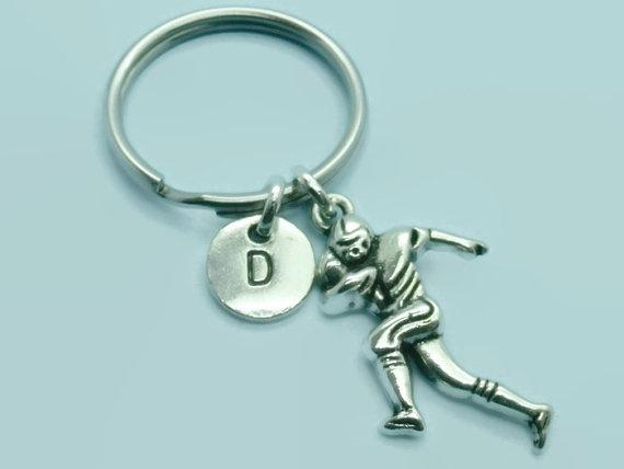 footballplayer, footballkeychain, Key Chain, americanfootball