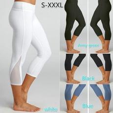 Leggings, Plus Size, Yoga, Elastic