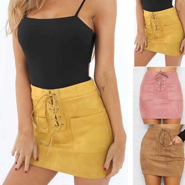Mini, Shorts, short dress, leather