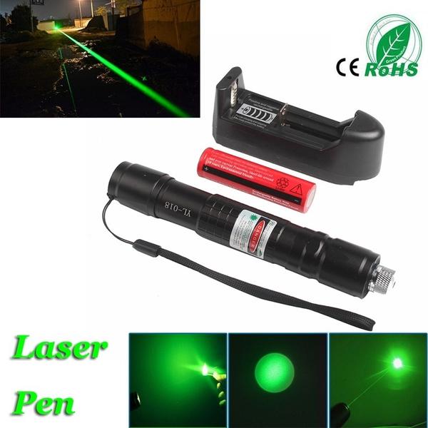 Flashlight, 18650battery, Laser, laserpointerpen