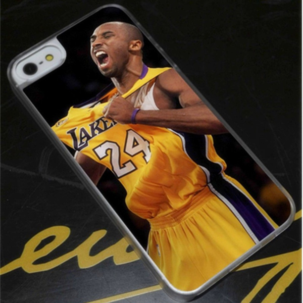LA Lakers Kobe Bryant Champ Phone Case Fits iPhone 4 5 6 7s plus 8 x case Samsung Galaxy S6 S7 S8 cover   Wish