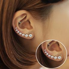 Sterling, Fashion, earcuffsearring, Jewelry