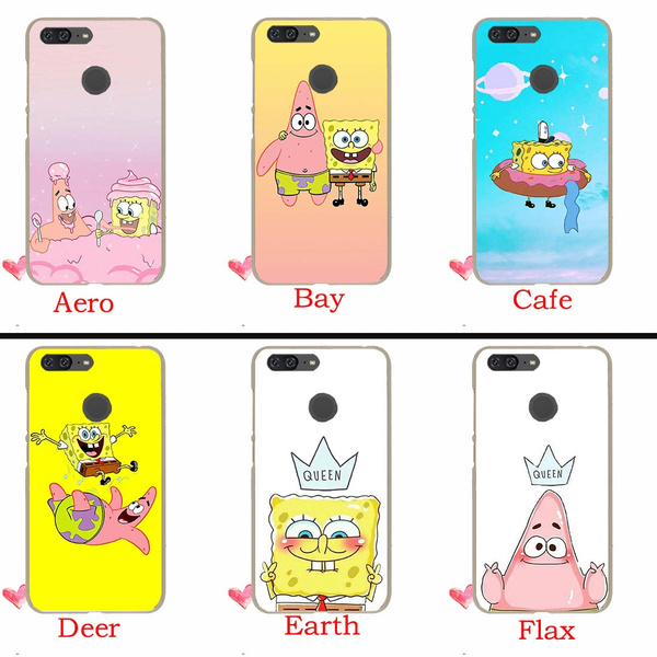 346TE Best Friend Spongebob Hard Case for Huawei P20 Pro P10 P9 P8 Lite Mini P Smart 2015 2016 2017 Cover Coque | Wish