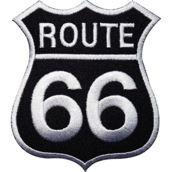 route66, Stickers, Patch, sewingaccessorie