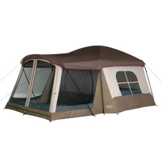 brown, camping, Sports & Outdoors, largetentwithscreenporch