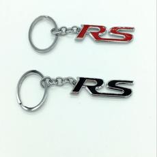 Key Chain, la, Metal, Key Rings