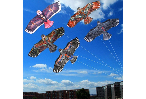 Outdoor Sport Spaß Cartoon Eule fliegen Single Line Kite Kinder Kinder Spiel Neu