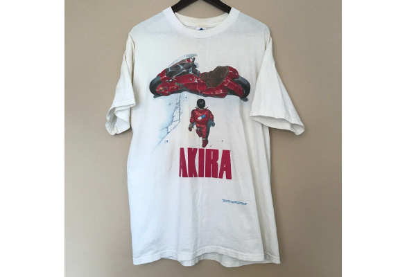 Hot Sale Vintage Akira Shirt 1988 Shotaro Fashion Victim Ghost In The Shell Anime T Shirt Men Cotton Tee Wish