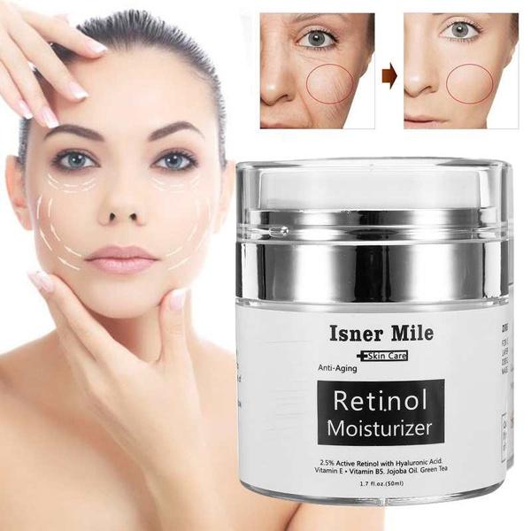 retinol, anti aging cream, facemoisturizer, shrinkpore