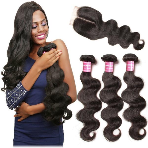 Remy Hair, Hair Extensions, humanvirginhair, wavyhair