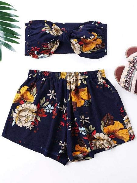 Mini, Shorts, crop top, coordset