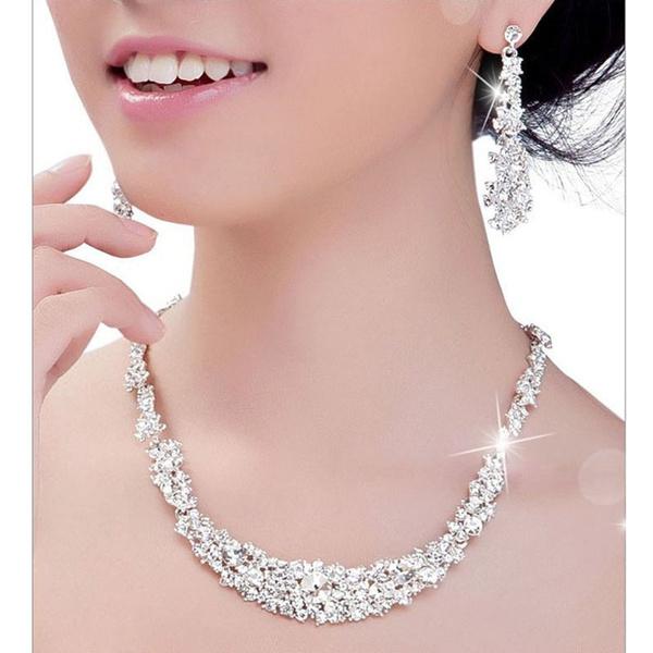 Jewelry Set, Earring, Necklace, Beauty