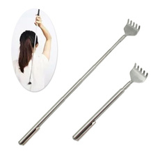 backmassager, Steel, extendable, Stainless