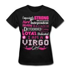 virgo, Funny T Shirt, Cotton T Shirt, womencasualshirt