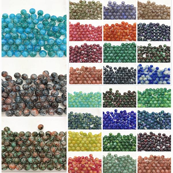 8MM, Jewelry, Jewelry Making, Glass