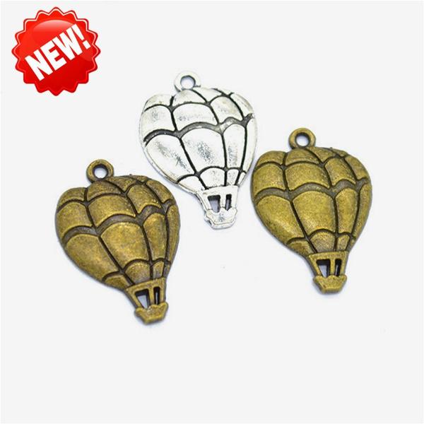 hotairballoon, Bead, Jewelry, gold