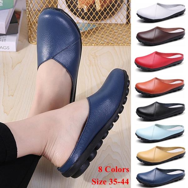 Flats, Plus Size, leather, Doug Shoes