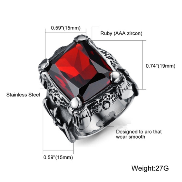 Goth, Fashion, Punk jewelry, Stainless Steel