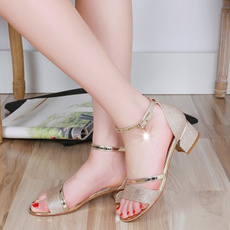 beach shoes, Sandals, Jewelry, gold