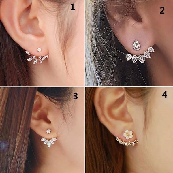 Boucles d/'oreilles en cristal Femmes Mode strass Ear Studs