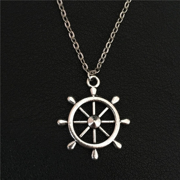 Antique, sailorstyle, shipnecklace, Jewelry