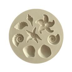 Kitchen & Dining, shellfondantmold, fondantmold, starfish