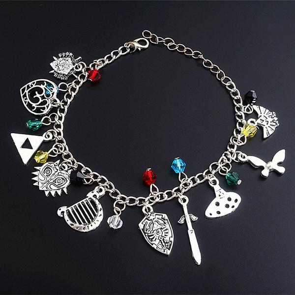 butterfly, Heart, Triangles, Jewelry