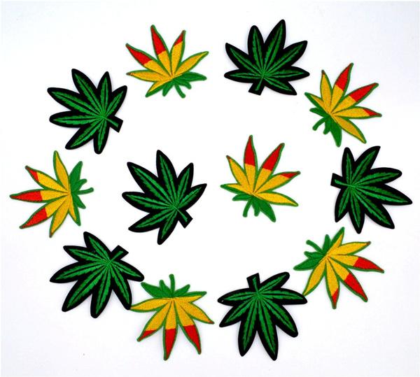 leafpatch, leaf, hippie, irononpatch