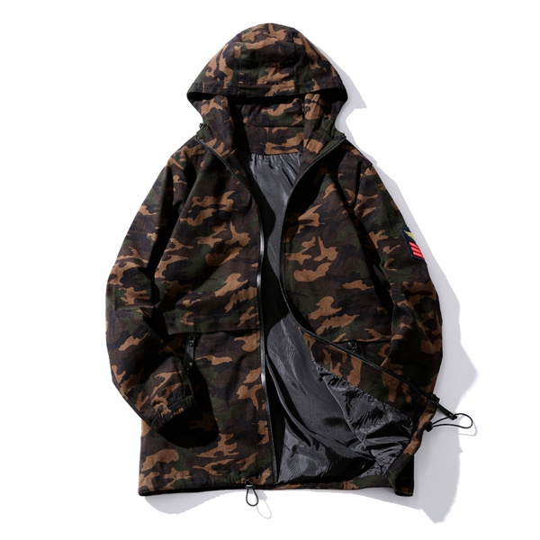 Jacket, bimedium, hooded, slim
