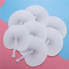 foldingfan, paperfansdecor, roundfanset, paperfan