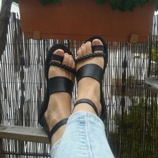 Plus Size, anklestrapsandal, flatsandal, summer shoes
