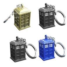 Box, Dalek, Key Chain, Jewelry