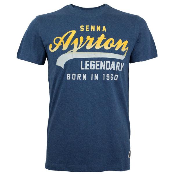 Blues, Mens T Shirt, ayrtonsenna, Slim T-shirt