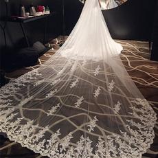 weddingveil, Lace, bridalveil, laceveil