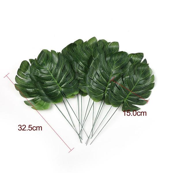 Turtle, leaves, Decor, artificialplant