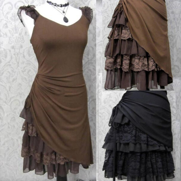 Goth, Lace, victoriangothiccostume, Cosplay Costume