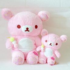 Plush Toys, pink, rilakkuma, Toy