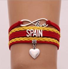 infinity bracelet, flagbracelet, Women's Fashion & Accessories, Infinity