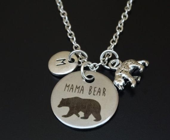 Jewelry, Gifts, mommabear, animalsampfigure